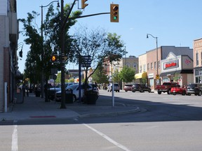 Tillsonburg council approved a by-law paving the way for temporary outdoor patios that uses sidewalk and parking spaces to increase restaurant coverage. The by-law also waives fees and charges for this year.  Chris Abbott/Tillsonburg News/Postmedia Network