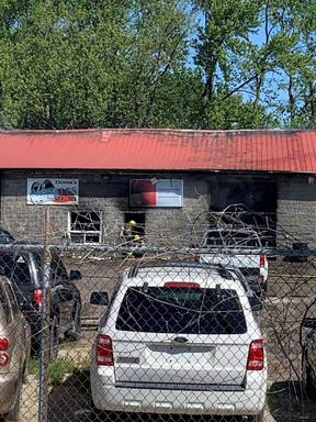 A late Monday morning fire at D&S Auto Electric in Wallaceburg caused roughly $1 million in damages and one employee was treated by Chatham-Kent EMS at the scene. Chatham-Kent Fire's Twitter