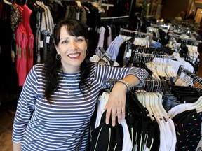 Rachel's Room owner Julie Krieger has begun selling more women's clothes online and through social media during the COVID-19 pandemic. Mark Malone/Postmedia Network