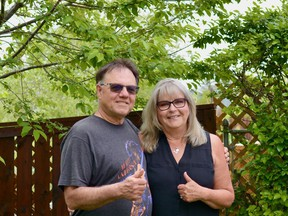 To raise awareness of Mental Health and Addictions Awareness Month this June, the Thumbs Up Foundation is encouraging everyone to take a picture giving a thumbs up. Photo by Kelsey Yates