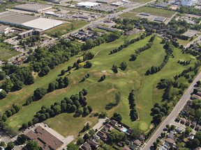 The city is selling the Arrowdale Golf Course property for $15 million. Seventeen acres will be set aside for a park. Expositor file photo