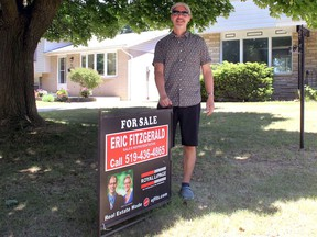 Longtime real estate agent Eric Fitzgerald sees a significant reduction in the old stye open houses when the current COVID-19 pandemic is over.  (ELLWOOD SHREVE, The Daily News)