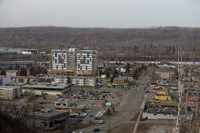 Downtown Fort McMurray, Tuesday April 2, 2019. Photo by David Bloom ORG XMIT: POS1904031007302040 ORG XMIT: POS1904111635040174 ORG XMIT: POS1906251654398315 ORG XMIT: POS1909171358261473