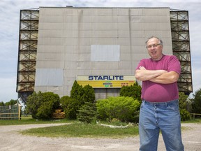 With Hollywood's production and release schedule at a standstill due to COVID-19, Starlite Drive-In owner Allan Barnes has had to be creative in choosing movies to show.