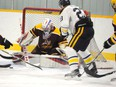 The season has ended for the Thunder with the cancellation of the PJHL season. File Photo