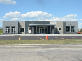 Pincher Creek's new Sage Early Learning Centre shortly before the facility opened.