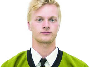 Pacey Schlueting, formerly of the North Bay Trappers of the Great North Midget Hockey League, who became a first-round Ontario Hockey League draft pick of the North Bay Battalion, is now a member of the Saginaw Spirit following a recent trade. A big defenceman, Schlueting has a 2002 birth date and thus, has considerable OHL eligibility ahead of him.