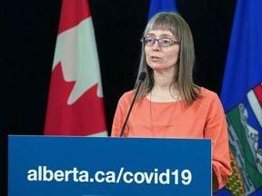 Chief medical officer of health Dr. Deena Hinshaw provided a COVID-19 update in Edmonton on June 25, where she reminded Albertans to be vigilant to reduce the spread of the virus while they celebrate Canada Day. Government of Alberta