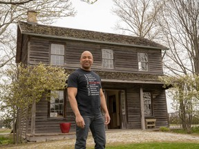 Uncle Tom's Cabin manager Steven Cook plans to put the museum's outdoor space to use when they are allowed to reopen. Max Martin/Postmedia Network
