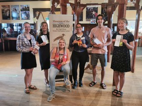 The Museum of the Highwood has been re-opened since June 20th. Here are the staff on July 21st, taking their masks off for a moment to pose for a photo.
