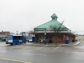The Owen Sound Transit terminal on 3rd Avenue East is seen in this file photo.
