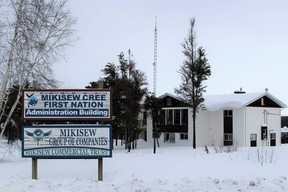 The administrative building for the Mikisew Cree First Nation and the band's group of companies on February 8, 2018. Vincent McDermott/Fort McMurray Today/Postmedia Network