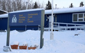 Wood Buffalo RCMP's Fort Chipewyan detachment on Thursday, January 16, 2020. Vincent McDermott/Fort McMurray Today/Postmedia Network