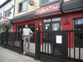 Andrew Youssef, co-owner and chef of Daffodil Pub expects to open the restaurant next Thursday in Cornwall, Ont. Joshua Santos/Cornwall Standard-Freeholder/Postmedia Network