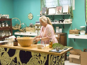 Kat Underwood, a registered herbalist, has realized her 15-year dream of opening her own apothecary.  Brigette Moore