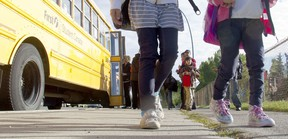 Ontario government guidance to school boards, child-care and before- and after-school programs sets out long-awaited COVID-19 protocols. (Postmedia Network)