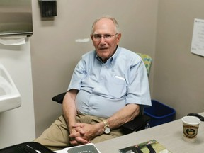 Dr. Neil Graham recently retired after 60 years. Here, on Aug. 26, on his last day of work, the High River Cancer Care Centre Doctor reminisced about his past