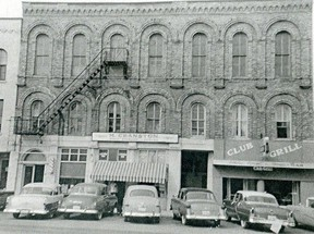 Goderich's Victoria Opera House in the mid-1950s. Courtesy Ann Rae