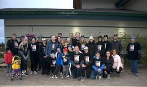 Friends and family of Jennifer Schollaardt walked together in the early hours of the morning on Saturday, Sept. 12, 2020, in memory of loved ones lost and to raise awareness and to advocate for the prevention of suicide.