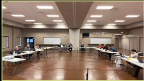 Central Huron council sat together for the first time on Sept.8. Screenshot