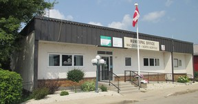 The MacGregor Municipal office. (supplied photo)