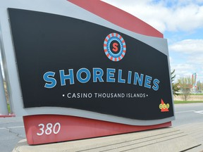 Shorelines Casino Thousand Islands in Gananoque.