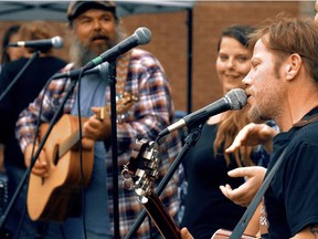 Local band Hungerford Station will perform from 4 p.m. to 7 p.m. (location TBD) during this year's staging of Porchfest. the band will be performing in the downtown core as part of the event's After Party. SUBMITTED