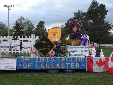 The Optimist Club of Lancaster's display at the 209th Williamstown Fair, held as a drive-through event on Saturday September 5, 2020 in Williamstown, Ont. Joshua Santos/Cornwall Standard-Freeholder/Postmedia Network