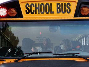 File photo of a yellow school bus
