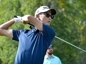 Ryan Tsang of Toronto during the final round of the Golf Ontario Mid-Amateur championship at the Loyalist Golf and Country Club in Bath on Thursday. Tsang won the three-round event with a score of 207. (Ontario Golf/Supplied Photo)