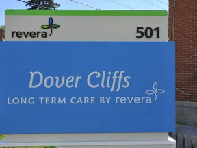 The Dover Cliffs Long-term Care Centre in Port Dover is one of 10 seniors homes in the Norfolk and Haldimand health district to benefit from the latest round of provincial funding in the area of COVID-19 prevention and containment. – Monte Sonnenberg