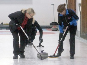 Under curling's return to play plan, there will only be one sweeper this year.
