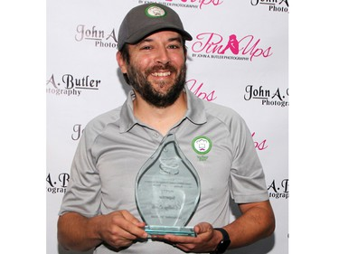 Valley Eats co-owner Ryan Schmidt accepted the start-up superstar award during the 16th annual Upper Ottawa Valley Chamber of Commerce Business Excellence Awards, held at the Skylight Drive-in Sept. 30.