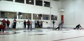 The Woodstock Curling Club is the latest group to postpone their season for at least one-year due to COVID-19.  Greg Colgan/Sentinel-Review/Postmedia Network file photo