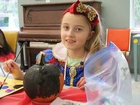 Annandale National Historic Site hosted two Halloween parties Saturday - a morning party for younger children ages 4-7 and an afternoon party for ages 8-12. (Chris Abbott/Norfolk and Tillsonburg News)
