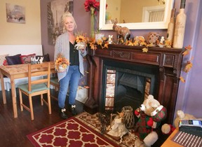 Barb Bleck will be hosting a Halloween fundraiser at Enchanted Eats Cafe in Tillsonburg to benefit the Tillsonburg Firefighter Association's annual Christmas hamper family sponsorship program. Children are invited to Enchanted Eats on Oct. 31st for a free hot dog (and two small chocolate bars). Hot dogs will be available for parents/guardians for a donation. (Chris Abbott/Norfolk Tillsonburg News)