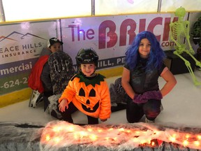 On Oct. 25, a Halloween skate took place at the Baytex Energy Centre where those who were registered were able to wear their costumes while skating and enjoyed spooky music and treats.