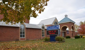 St. Mary's High School in Owen Sound.