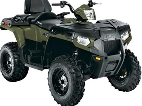 An ATV similar to the one reported stolen in the Township of Chatsworth between Oct. 16 and Oct. 24.