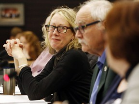 Wollaston Township Mayor Barbara Shaw,  above in a 2019 Hastings County council meeting, says there are loopholes in Ontario's Municipal Elections Act which could result in election fraud.