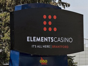 The Brantford casino reopened Sept. 28 with COVID-19 health protocols that limit gambling to slot machines. Expositor file photo