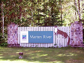 The province is building a new rest area at the intersection of Highways 11 and 64 just north of Marten River Provincial Park. One of four new rest areas being built across the North, the rest stop is designed to 'connect communities, build safer and better highways, help combat human trafficking.' Nugget File Photo