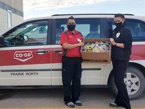 Prairie North Co-op Food Store in Melfort donates clay to local daycares. Photo supplied.