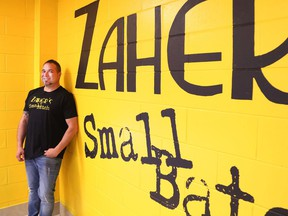 Deke Zaher owns Zaher's Small Batch on Elgin Street and plans to run for mayor next election.