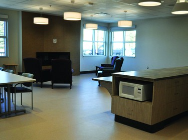 There's a new Adult Day Program area in the expansion to the Vulcan Community Health Centre.