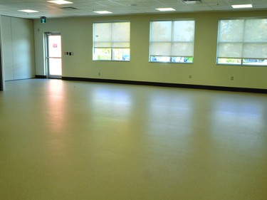 There's a new Community Rehabilitation area in the expansion to the Vulcan Community Health Centre.