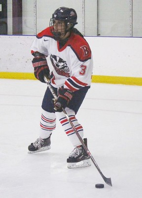 Believing her dreams of playing professional women's hockey died with the folding of the Canadian Women's Hockey League, Marissa Graham is heading to Sweden to join the Färjestad BK Dam hockey team.