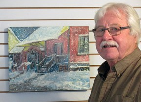 George Conklin will be exhibiting with Rita Milton at the Station Arts Centre in Tillsonburg. Their exhibit, Celebrate Happiness, runs from Nov. 6-Dec. 4. (Contributed photo)