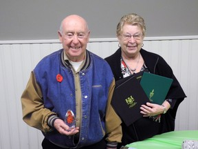 Elmer and Patti Covill run Augusta's Business of the Year. Wayne Lowrie/Recorder and Times