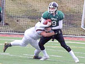 The Panthers held a big lead in their playoff game on Nov. 5, but couldn't hold on for the fourth quarter in their 33-21 loss to Bellerose that ended their hopes of advancing to the provincial playoffs.
